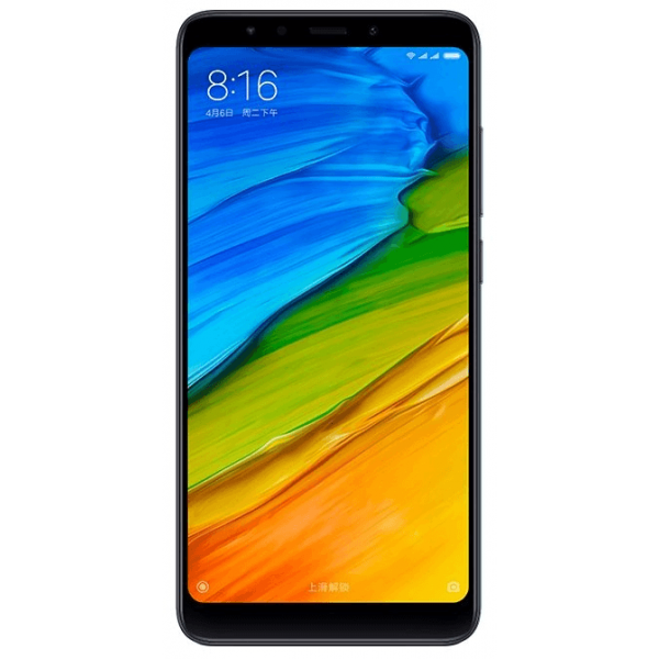 Смартфон Xiaomi Redmi 5 Plus 3/32GB Черный