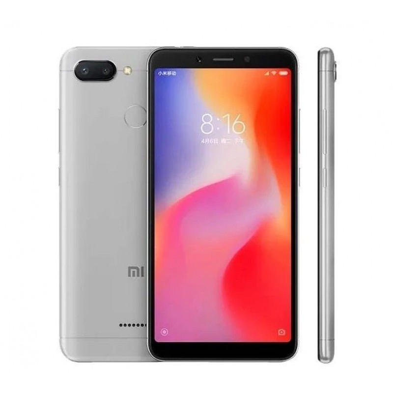 Смартфон Xiaomi Redmi 6A 3/32GB Серебристый