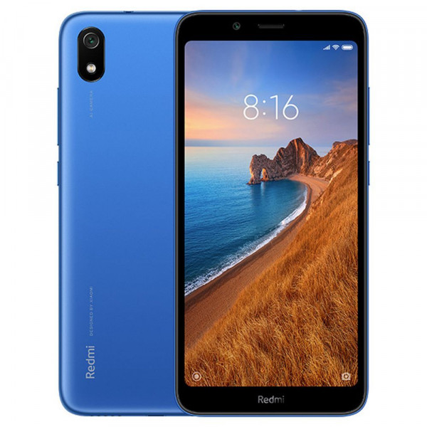 Смартфон Xiaomi Redmi 7A 2/16GB Blue/Синий Global