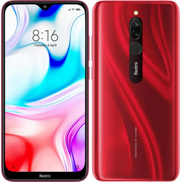 Смартфон Xiaomi Redmi 8 3/32GB Red/Красный Global