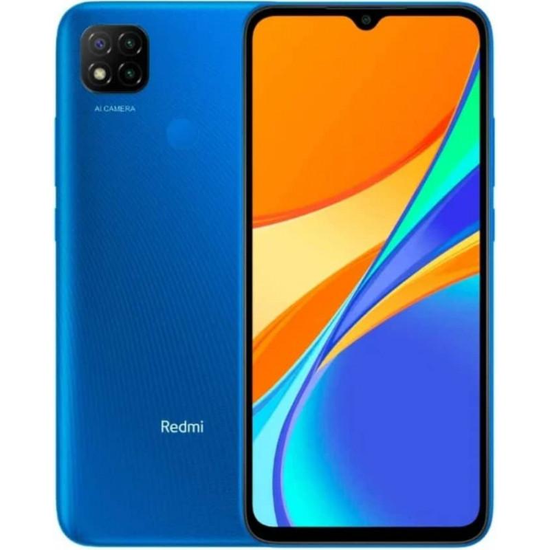 Смартфон Xiaomi Redmi 9C 3/64GB (NFC) Blue/Синий Global EAC