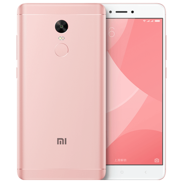 Смартфон Xiaomi Redmi Note 4X 4/64GB Розовый