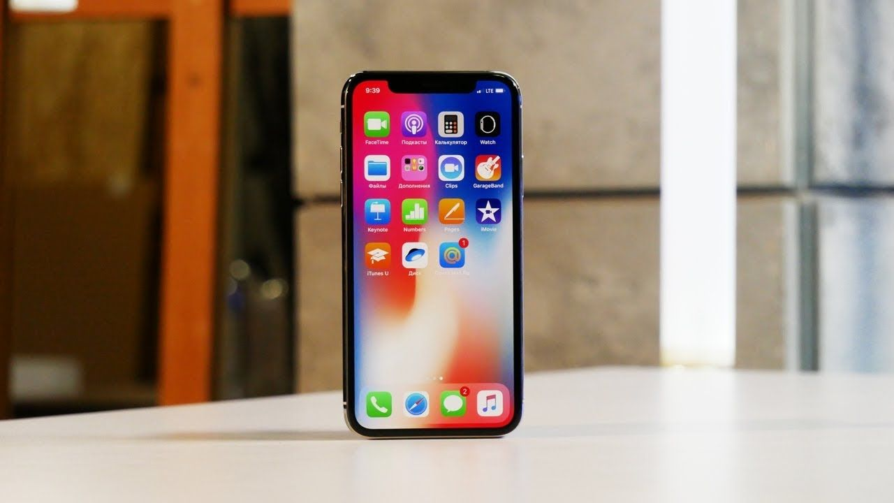 Смартфон Apple iPhone X 64GB Space Gray купить