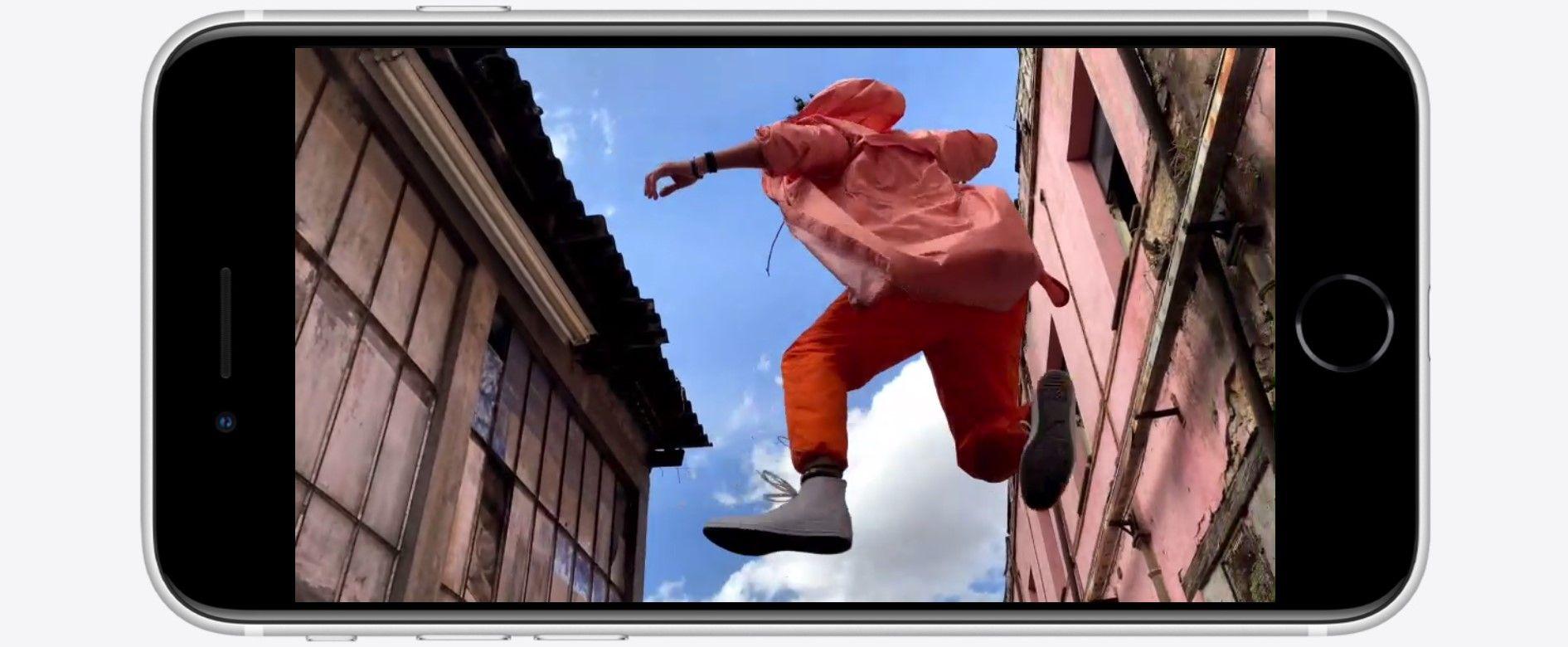 iPhone SE 2020 видео 4к