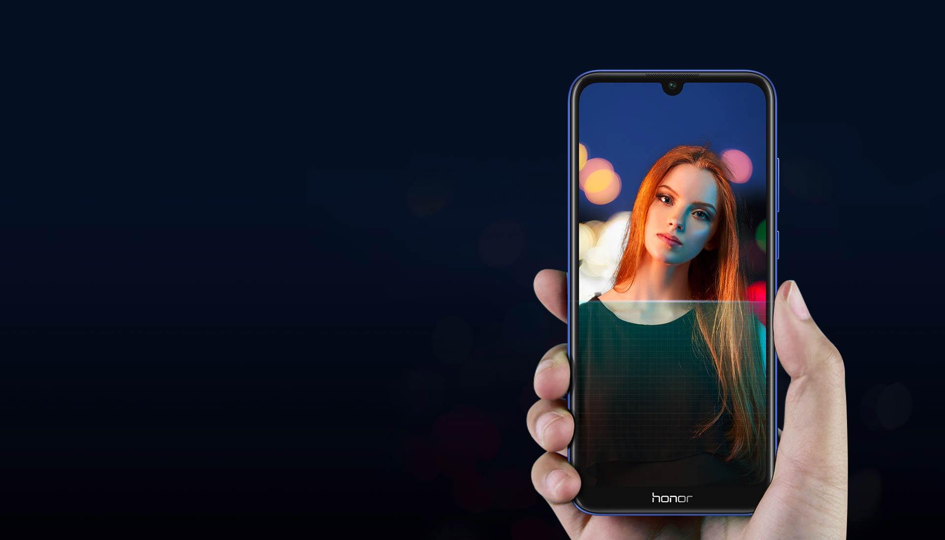 Honor 8A Дизайн смартфона