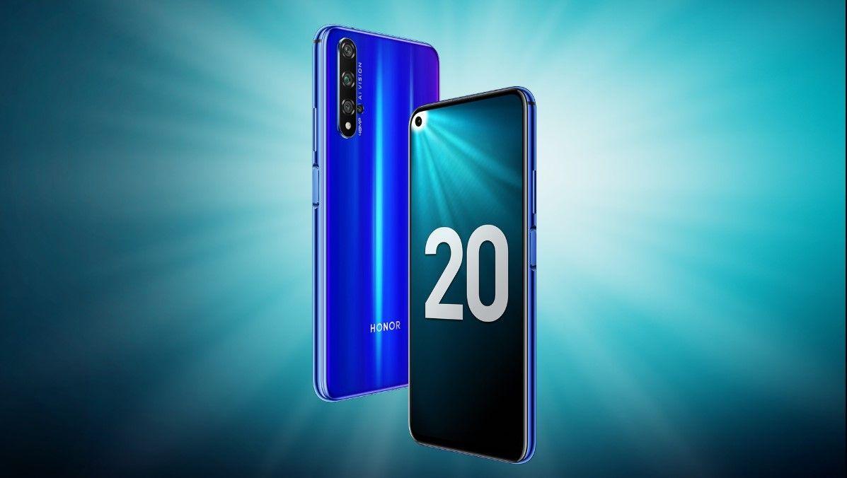 Honor 20 Blue/Сапфировый Синий купить в Москве