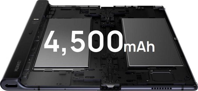 Huawei Mate X аккумулятор объем
