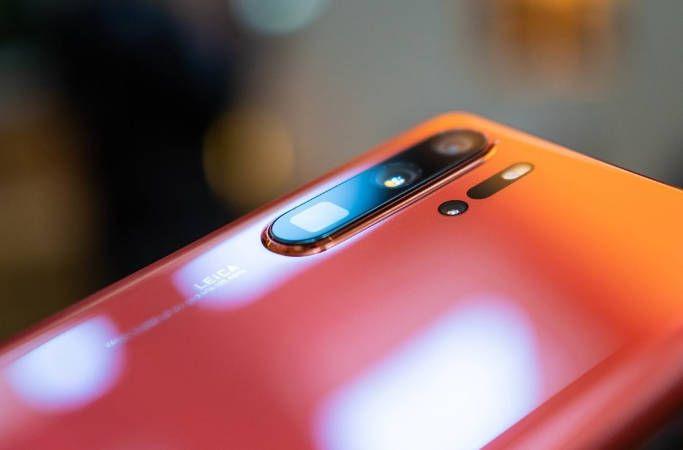 Huawei P30 Pro Blue / Светло-голубой камера