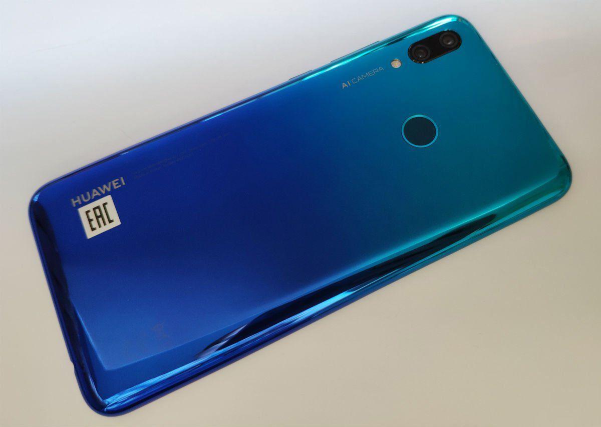 Huawei P Smart 2019 характеристики дисплея