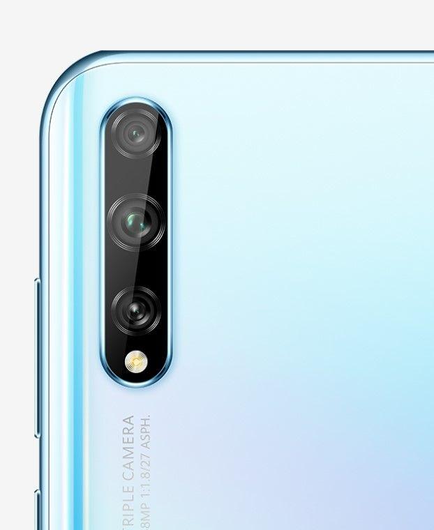 Huawei Y8p светло-голубой цвет