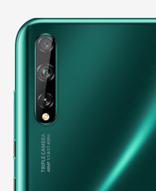 Huawei Y8p изумрудно-зеленый цвет