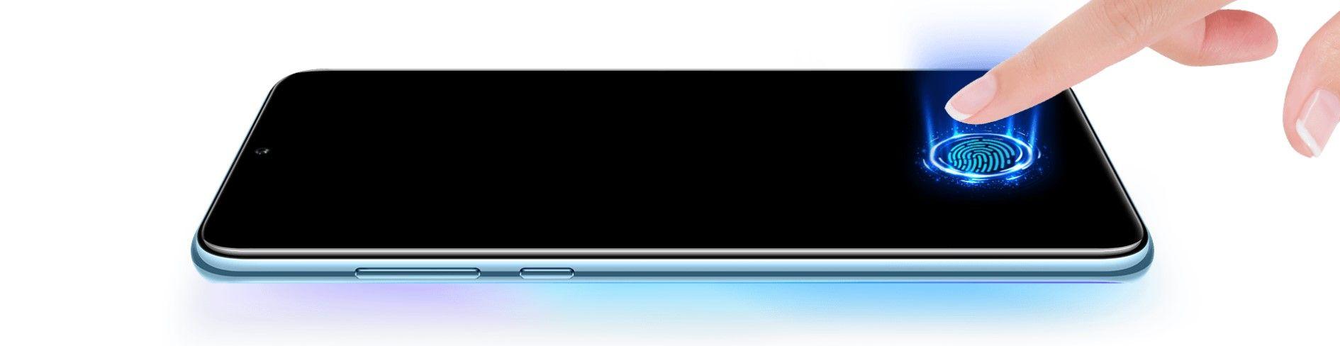 Huawei Y8p сканер отпечатка пальца