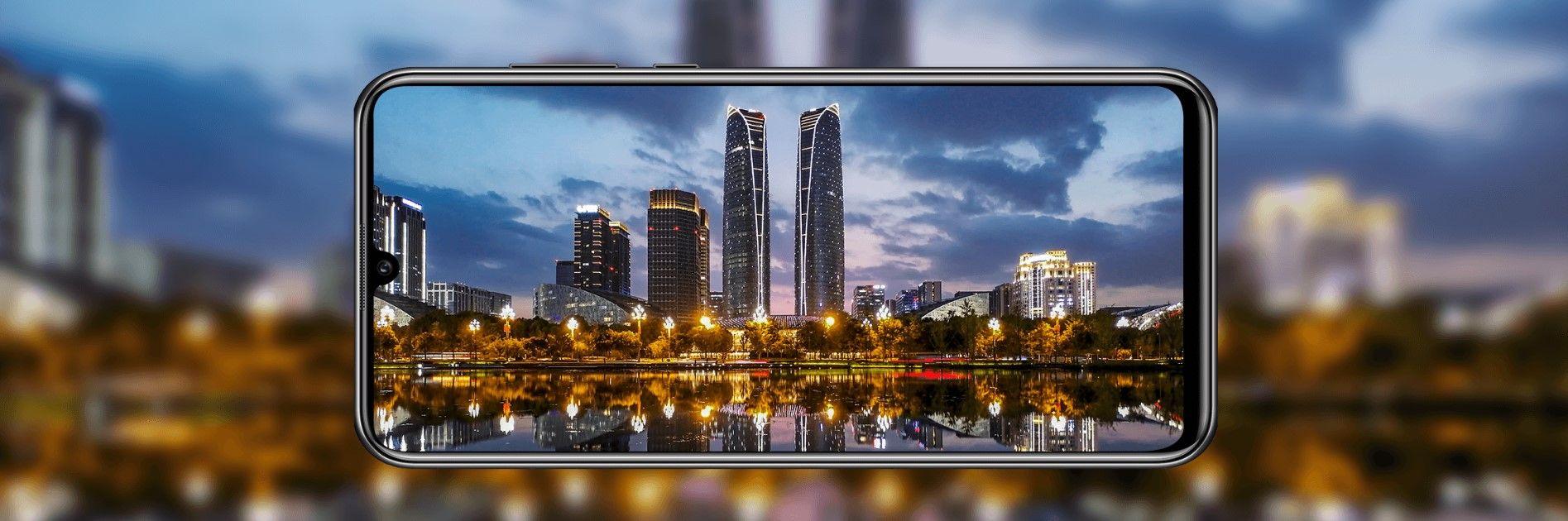 Huawei Y8p ночная съемка