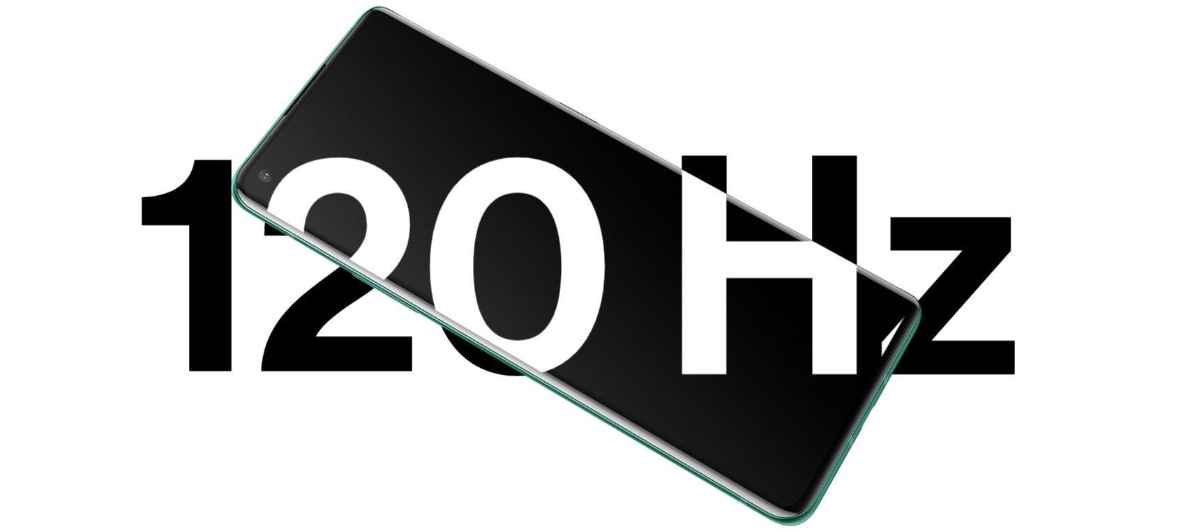 OnePlus 8 Pro частот обновления 120 герц