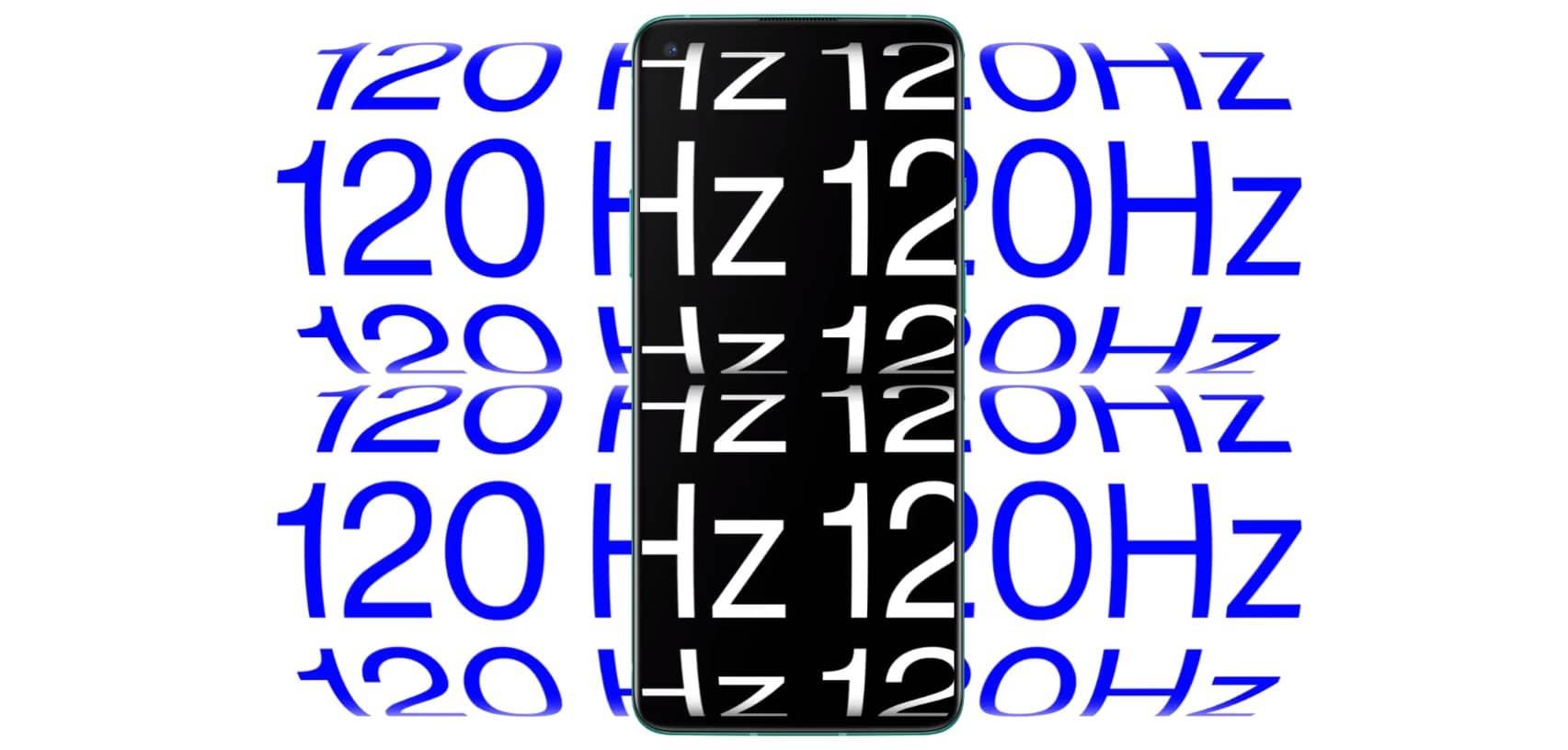 OnePlus 8T дисплей 120 герц