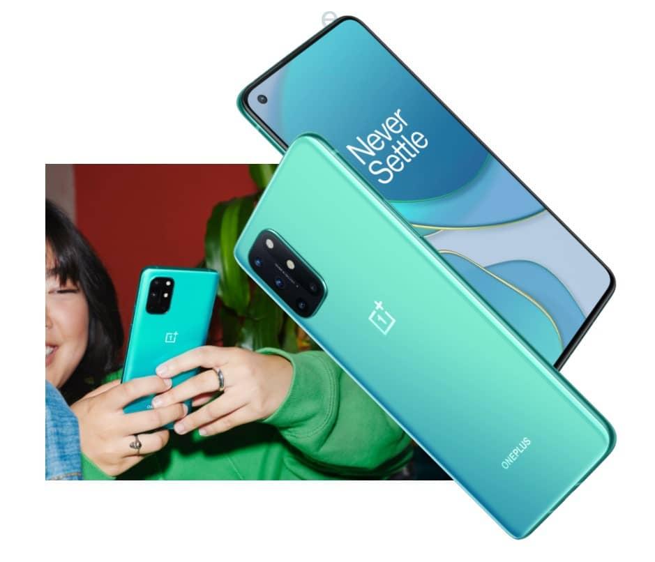 OnePlus 8T зеленый