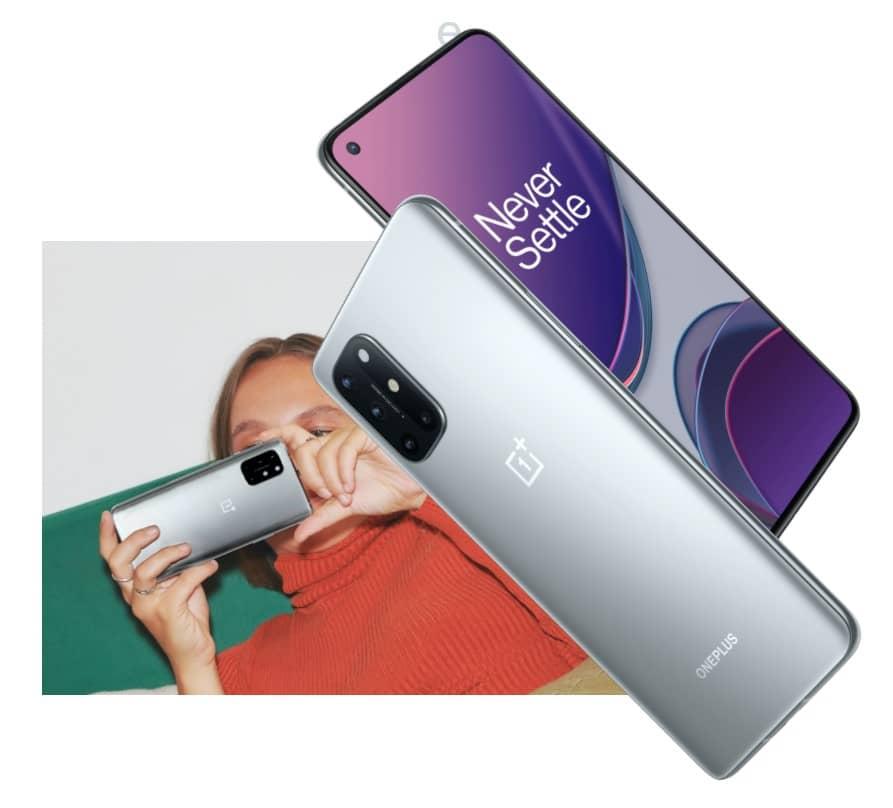 OnePlus 8T серебристый
