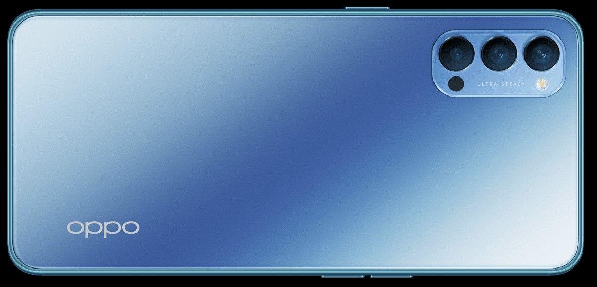 Oppo Reno4 Кристально Синий