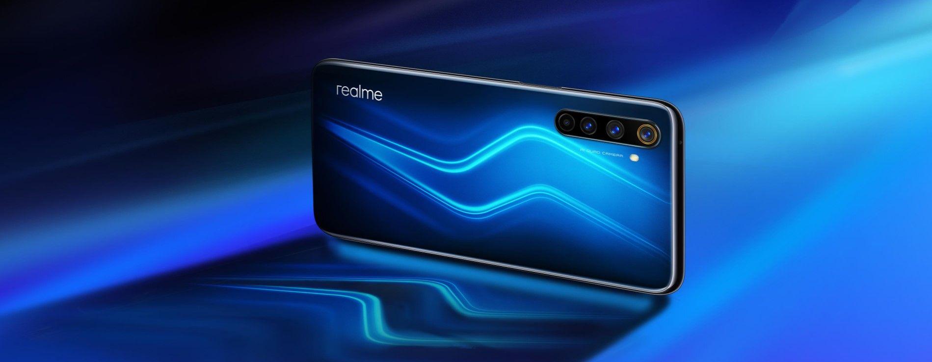 Realme 6 Pro синий
