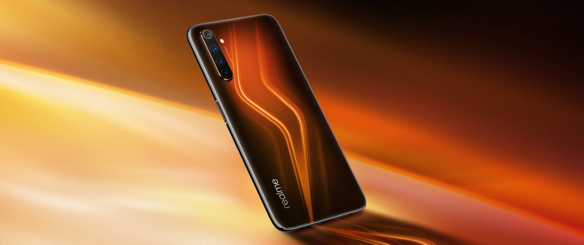 Realme 6 Pro оранжевый