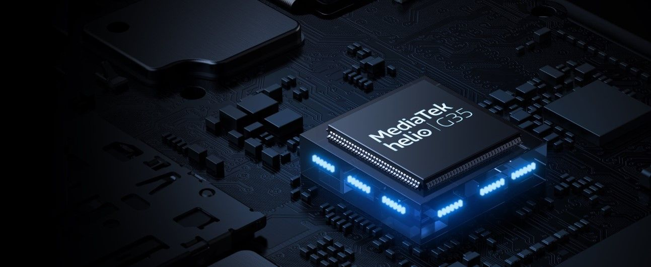 Смартфон Realme C15 процессор