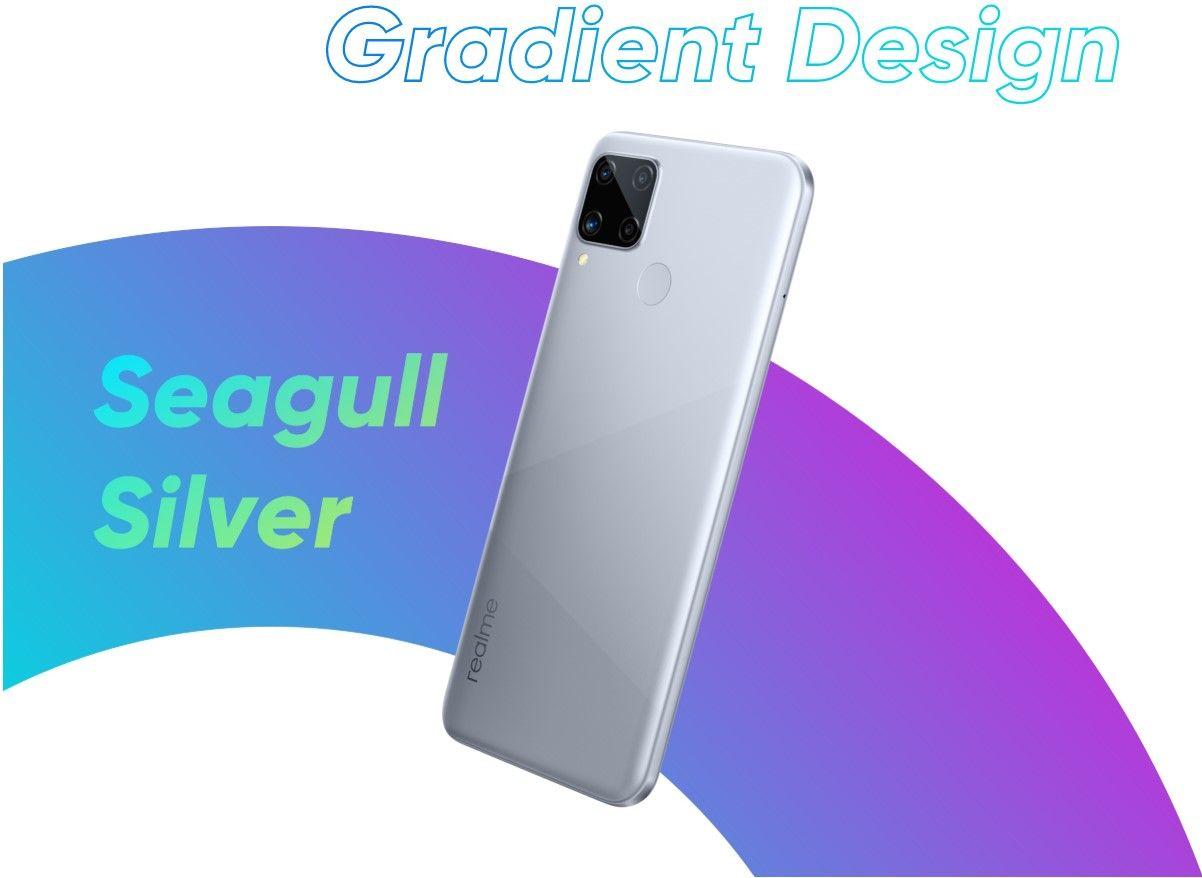 Смартфон Realme C15 серебрянный