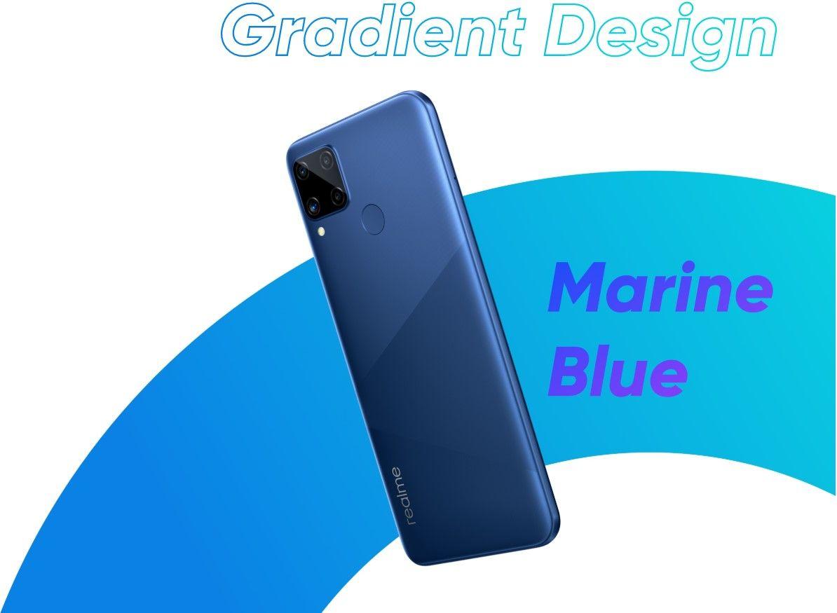 Смартфон Realme C15 синий