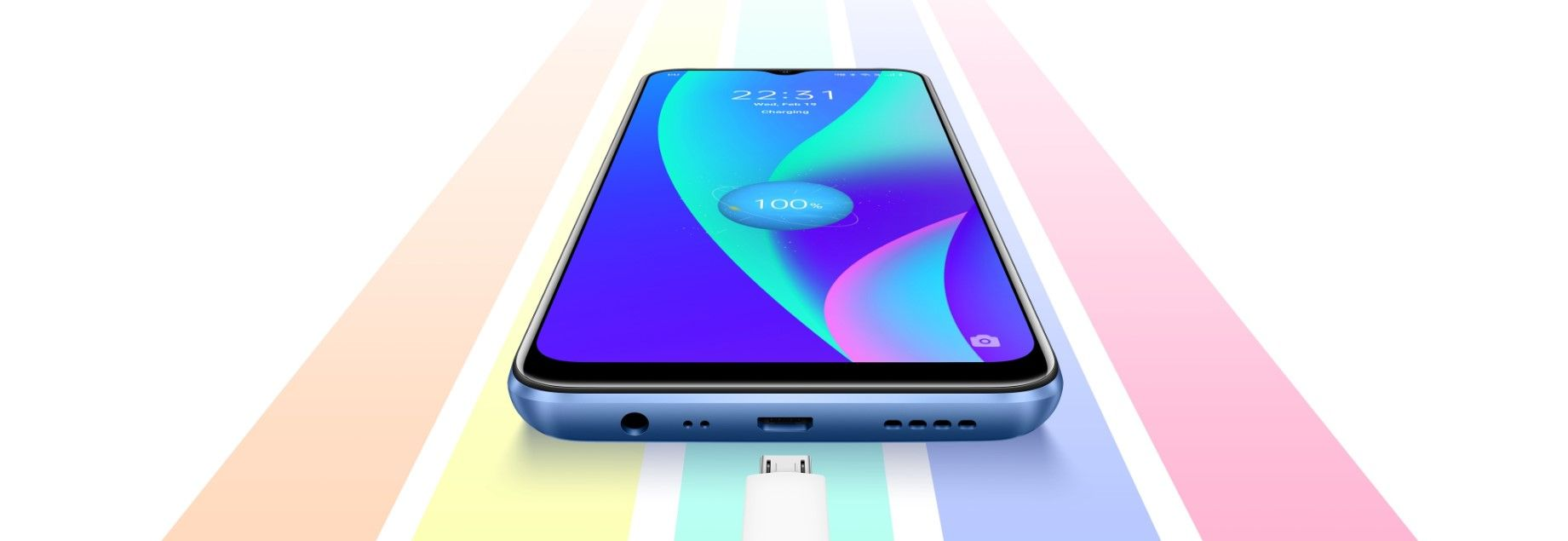 Смартфон Realme C15 быстрая зарядка 18 Вт