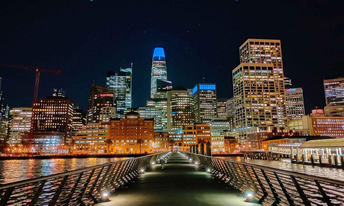 Realme 6 ночная съемка пример фото