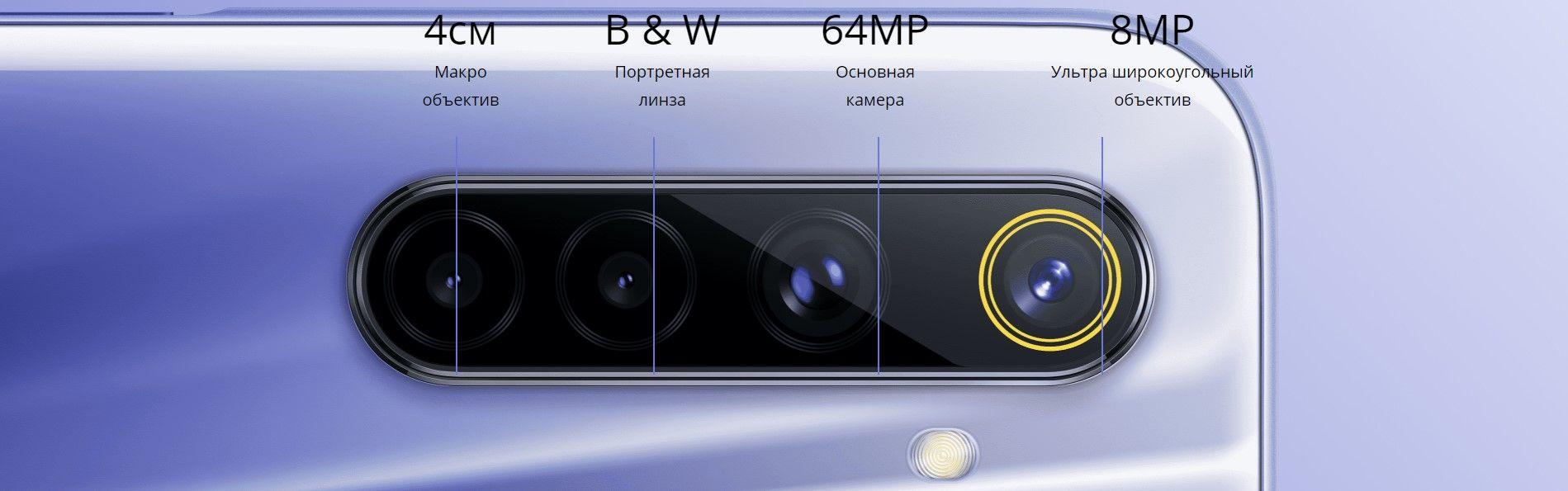 Realme 6 основные камеры