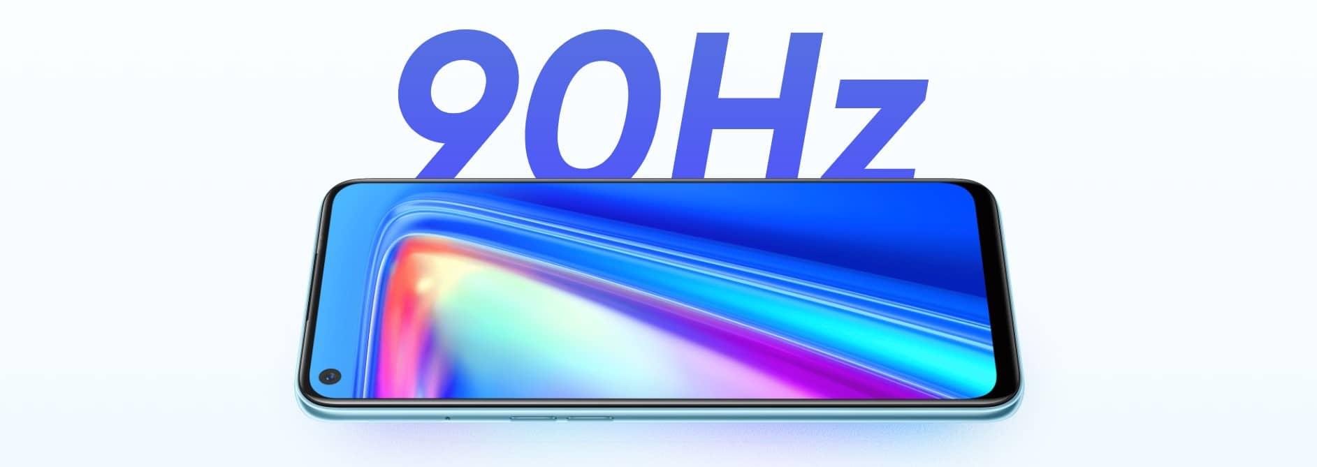Realme 7 частота обновления экрана 90 Герц