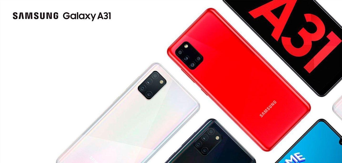Samsung Galaxy A31 Купить в Москве