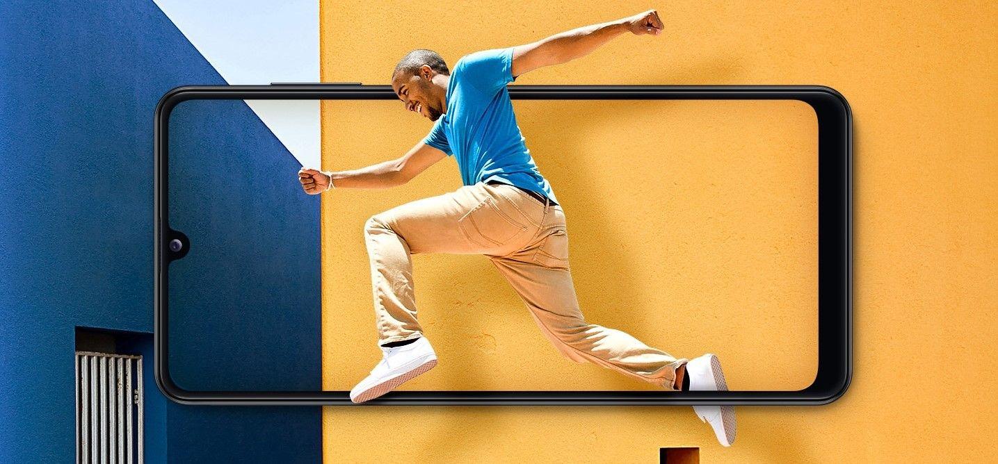 Samsung Galaxy A31 дисплей