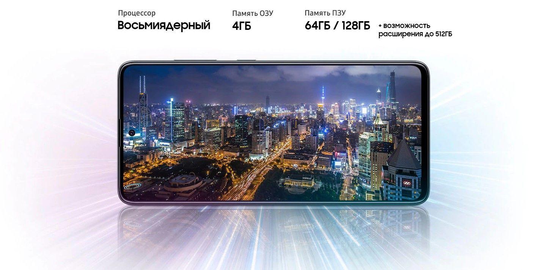 Samsung Galaxy A31 процессор