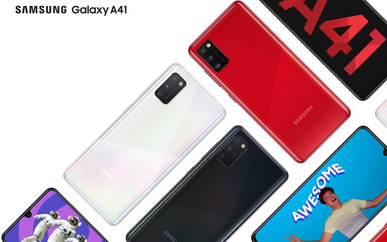 Samsung Galaxy A41 купить в Москве