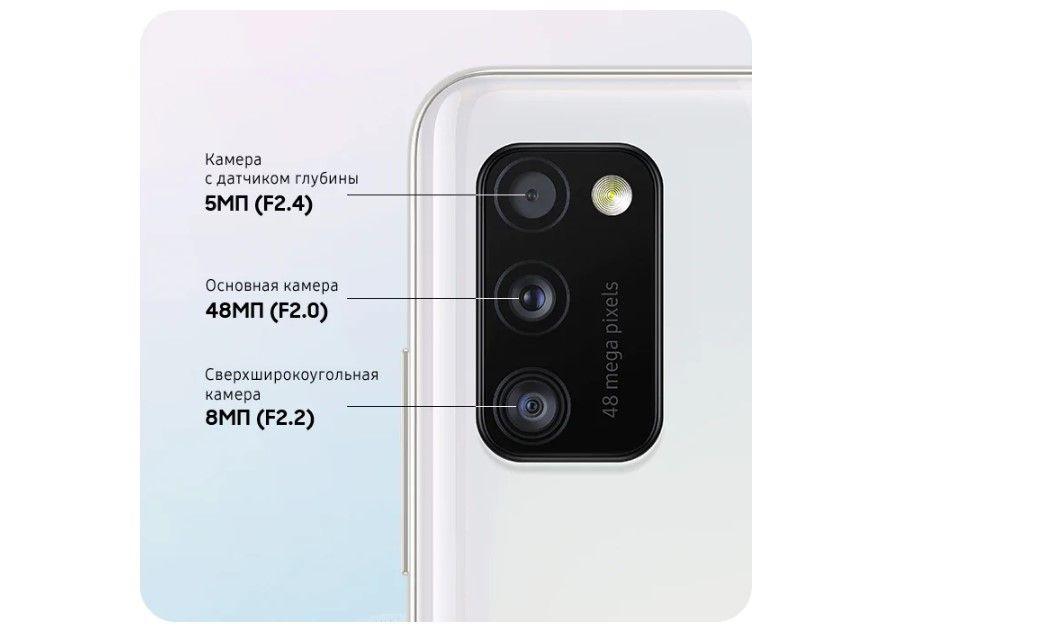 Samsung Galaxy A41 основная камера