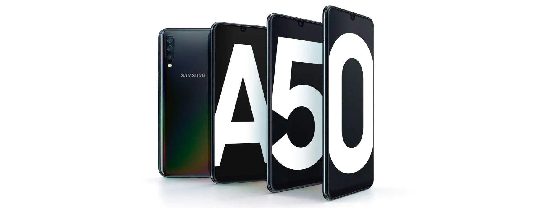 Samsung Galaxy A50 4/64 Black|Черный купить в Москве