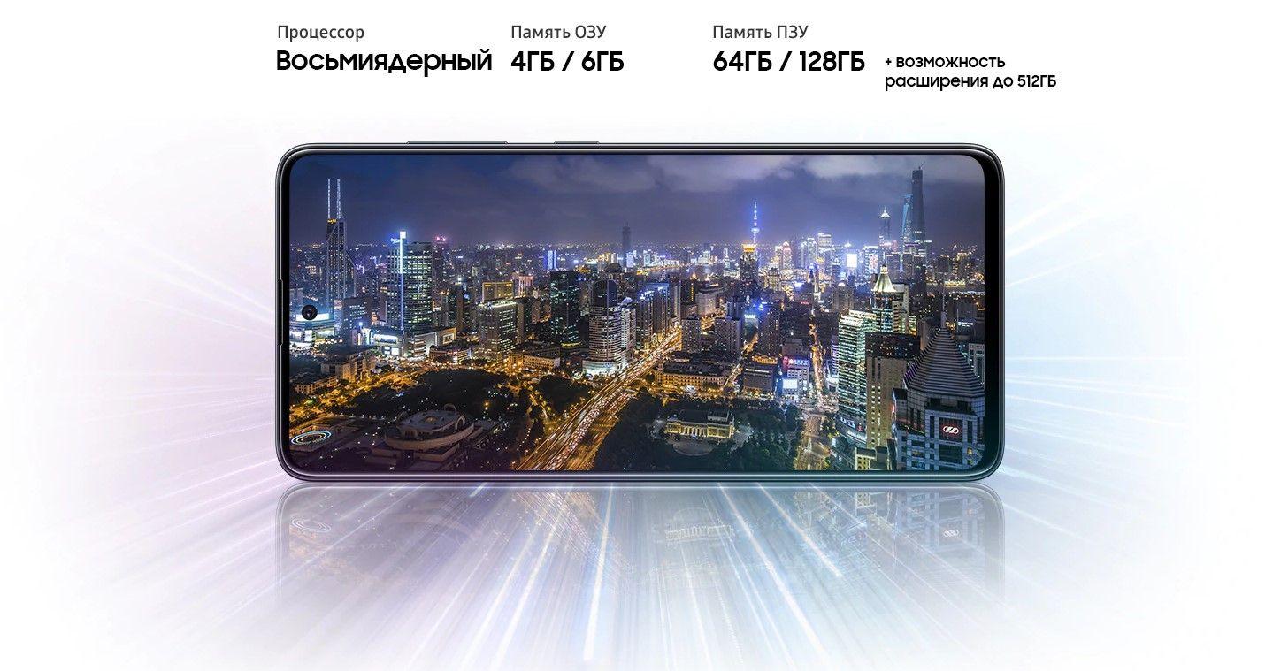 Samsung Galaxy A51 процессор для игр