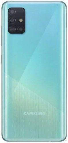 Samsung Galaxy A51 4 синий цвет