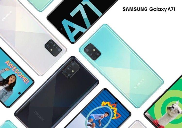 Samsung Galaxy A71 Обзор смартфона
