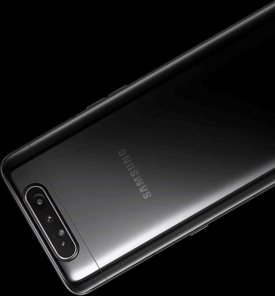 Samsung Galaxy A80 выдвижная камера