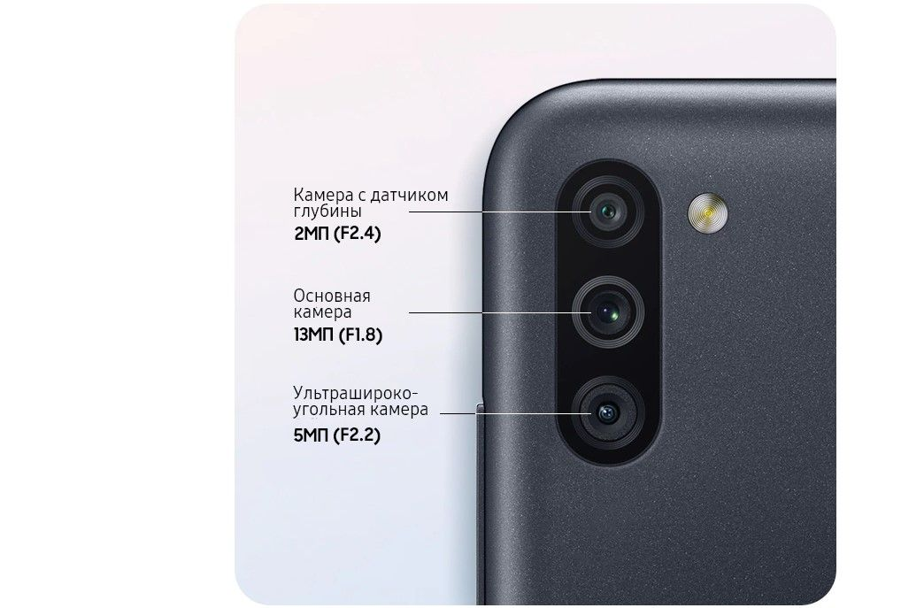 Samsung Galaxy M11 основная камера