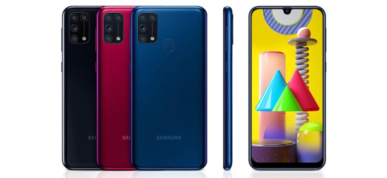 Samsung Galaxy M31 все цвета