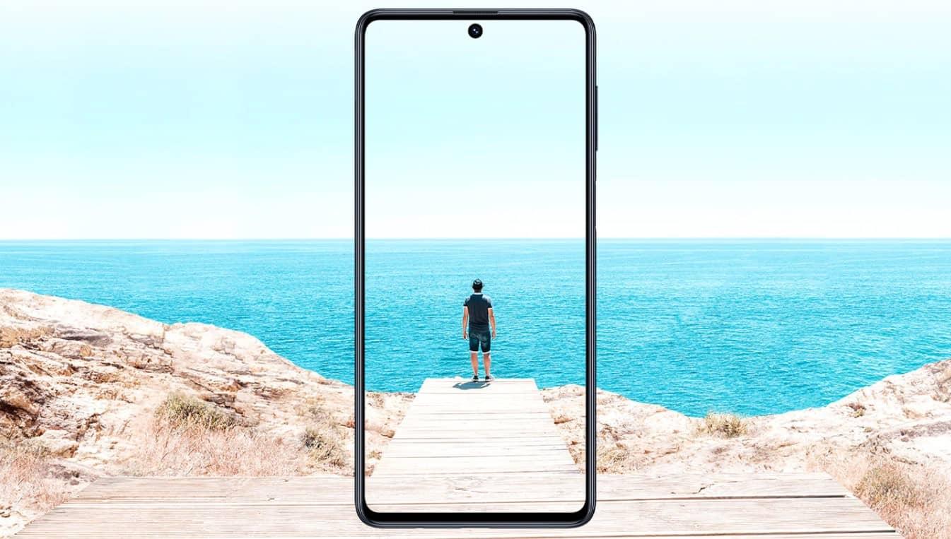 Samsung Galaxy M51 качественный дисплей