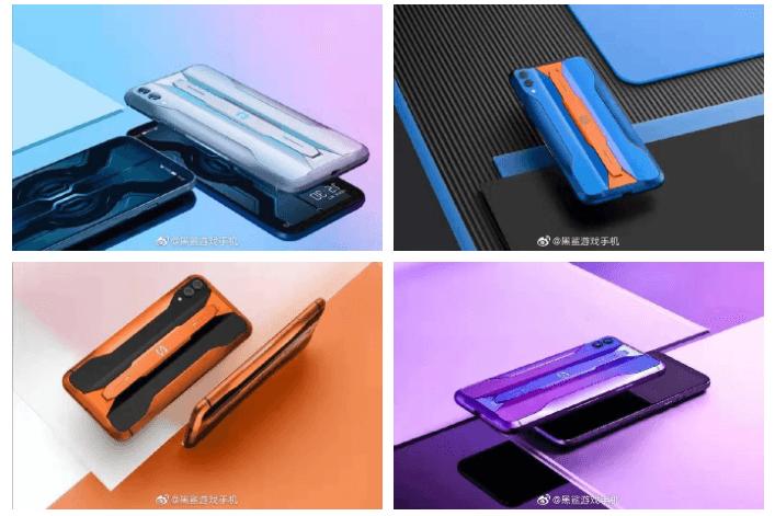 Black Shark 2 Pro обзор и цвета смартфона