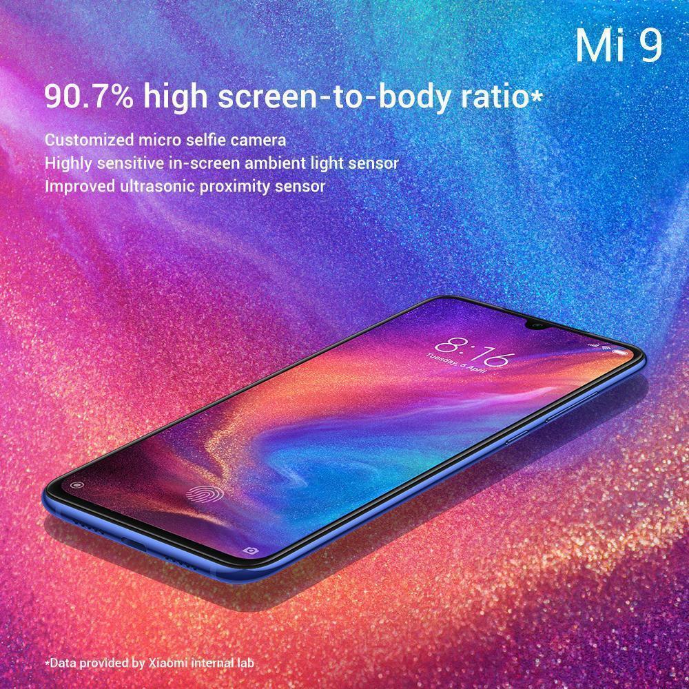 Сканер отпечатка Xiaomi mi9. Новые фото