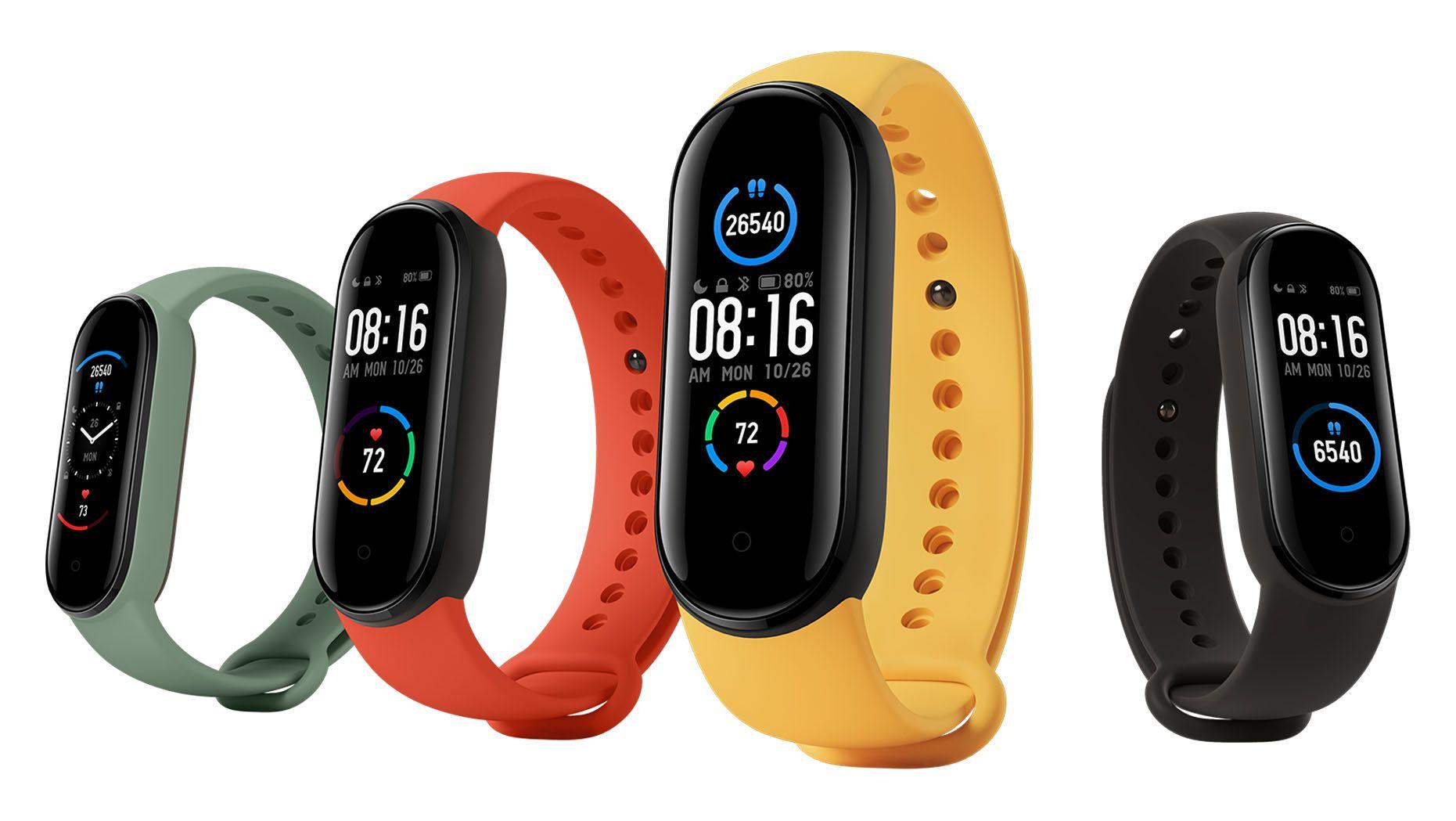 Xiaomi Mi Smart band 5 NFC купить в Москве