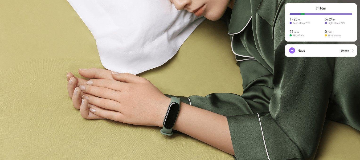 Xiaomi Mi Smart band 5 NFC режим сна