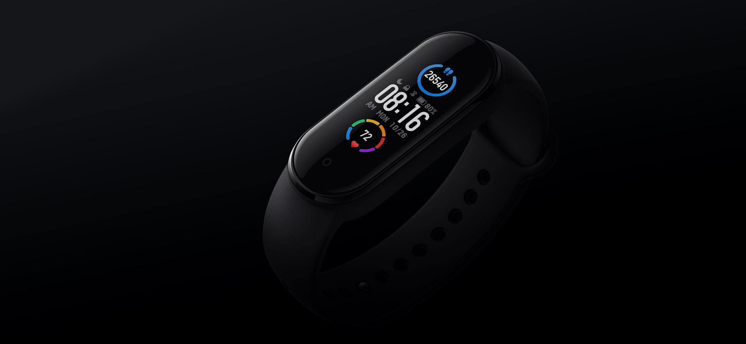 Xiaomi Mi Smart band 5 NFC дисплей