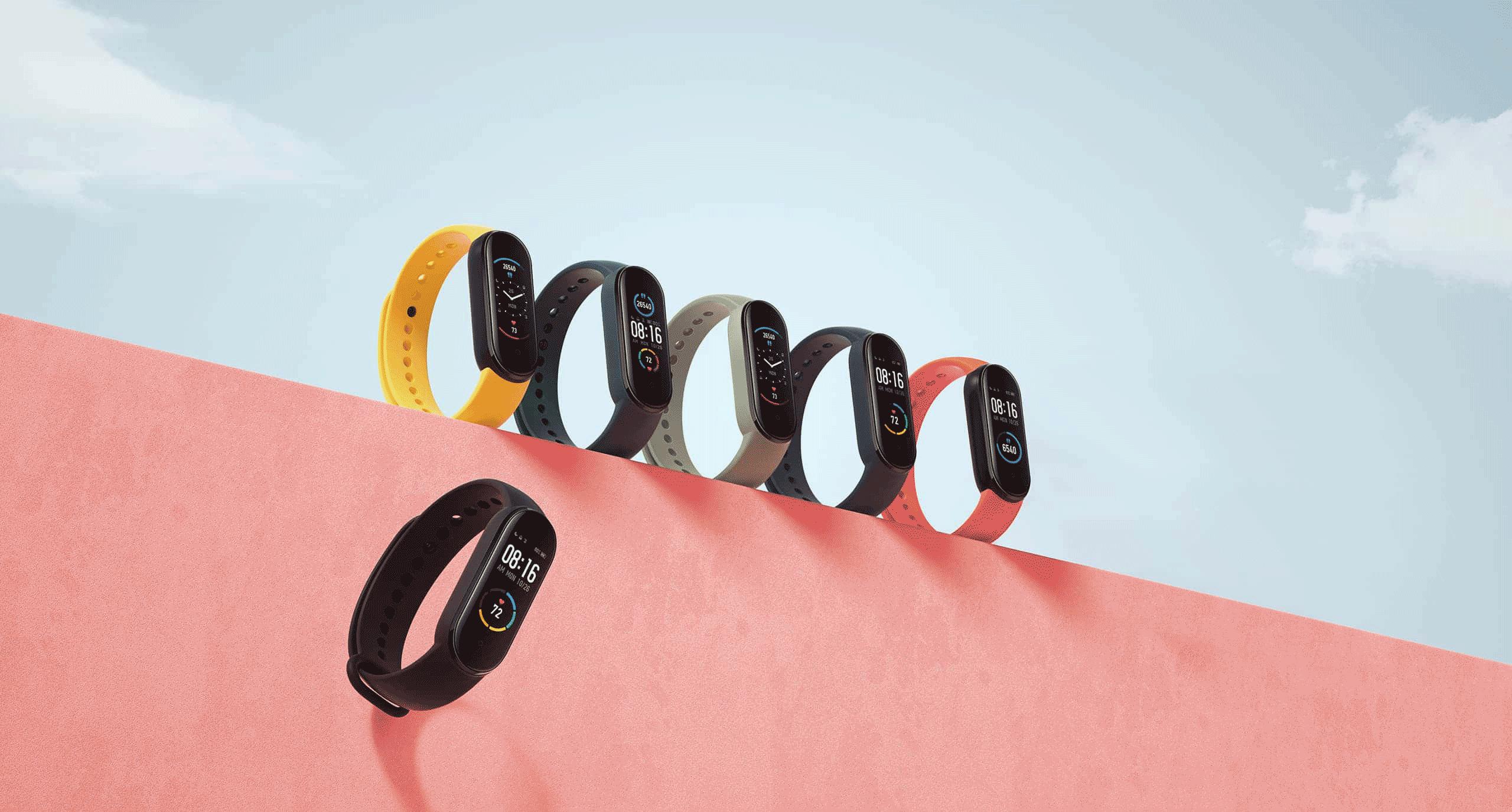 Xiaomi Mi Smart band 5 NFC все цвета